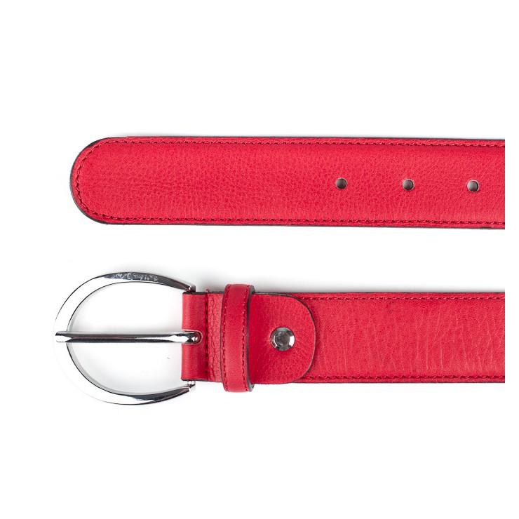 Talianska kožená kabelka 5078 bordová