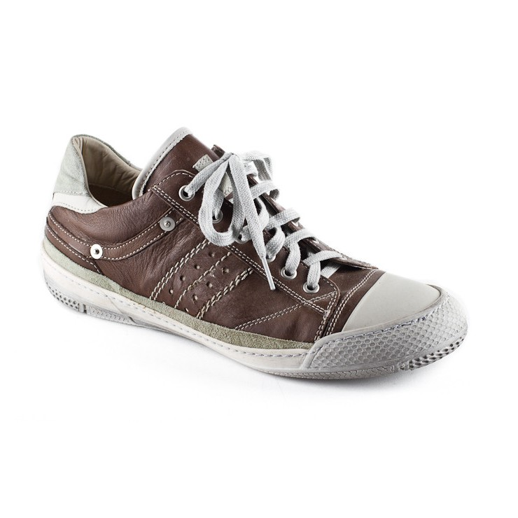 Leather Sneakers brown 643 Easy Going