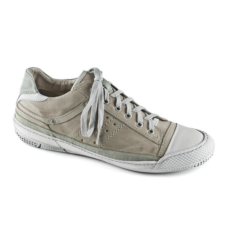 Leather Sneakers beige 6431 Easy Going