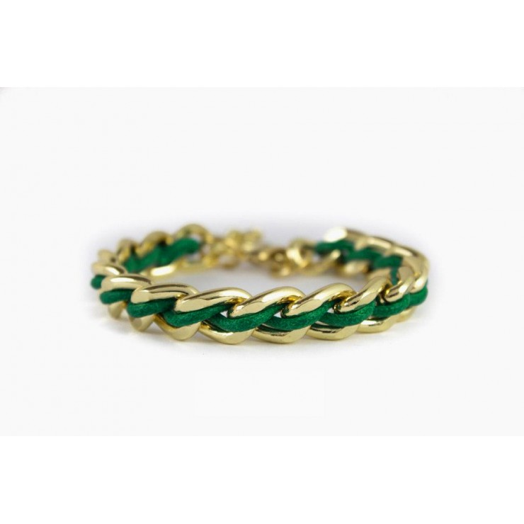 Bracelet green 1190 Made in Italy