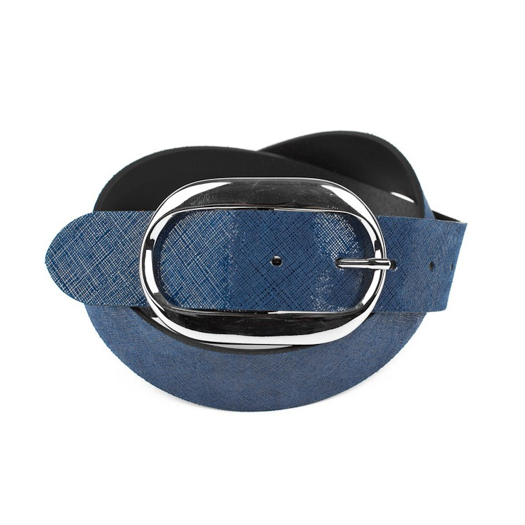Women leather belt 952 Made in Italy