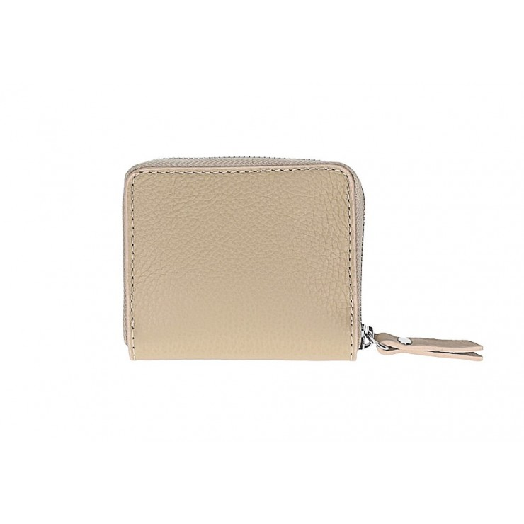 Woman genuine leather wallet 571 taupe