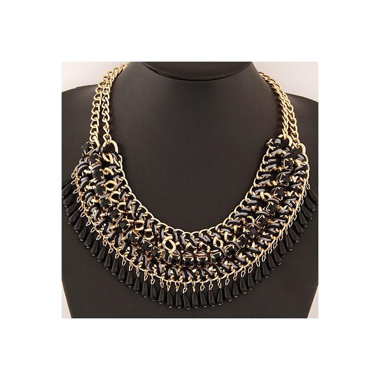 Dámský náhrdelník 477 černý