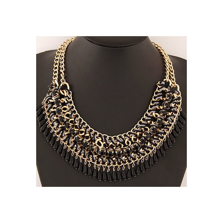 Ladies Necklace 477 black