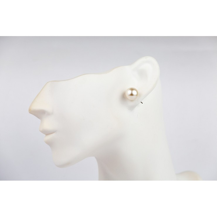 Ladies earrings 1199 white mother of pearl