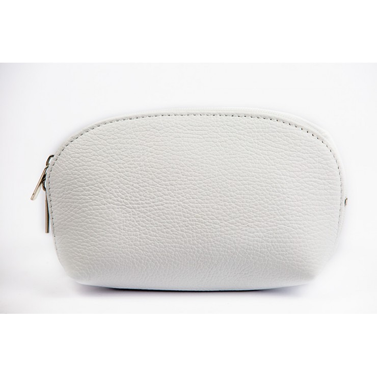 Leather Pouch 593 white