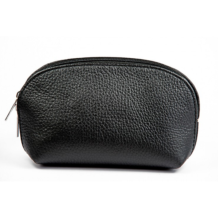 Leather Pouch 593 black