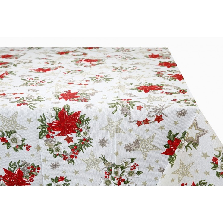 Cotton tablecloth 759D Made in Italy