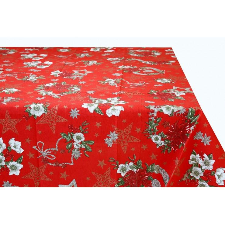 Cotton tablecloth 759E Made in Italy