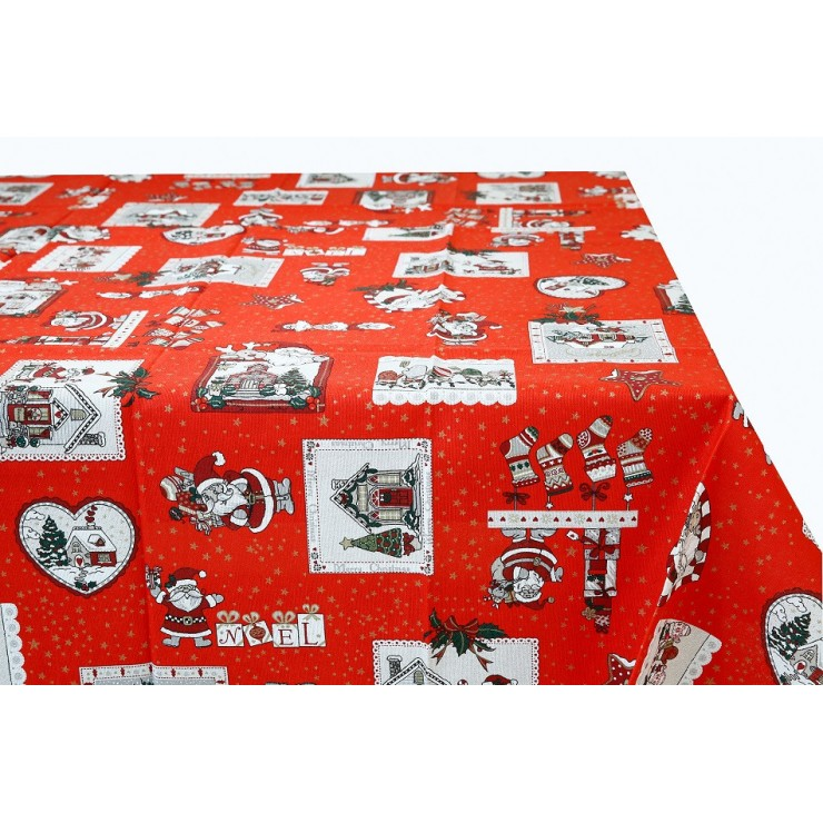 Cotton tablecloth 759H Made in Italy