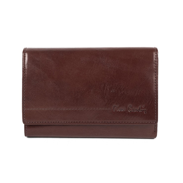 Woman genuine leather wallet P076 PSP01 PIERRE CARDIN