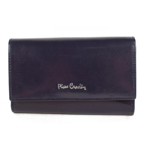 Dámska kožená peňaženka 1180 PIERRE CARDIN Modrá