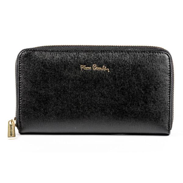 Dámska kožená peňaženka 1180A PIERRE CARDIN Čierna