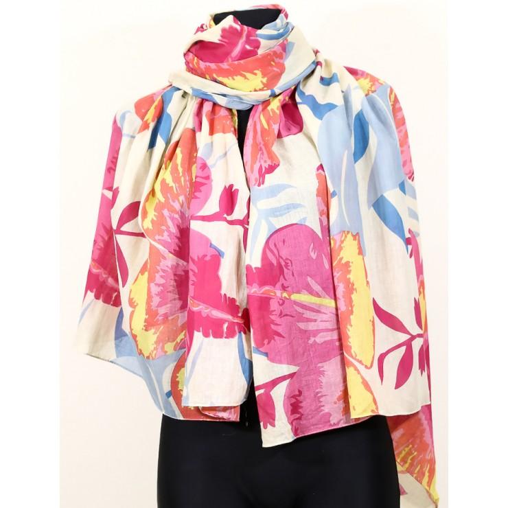 Women's foulard 931 fuxia GianMarco Venturi