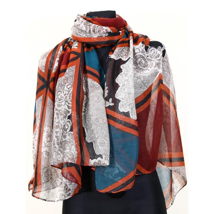 Ladies scarf 1072A MATTIOLO