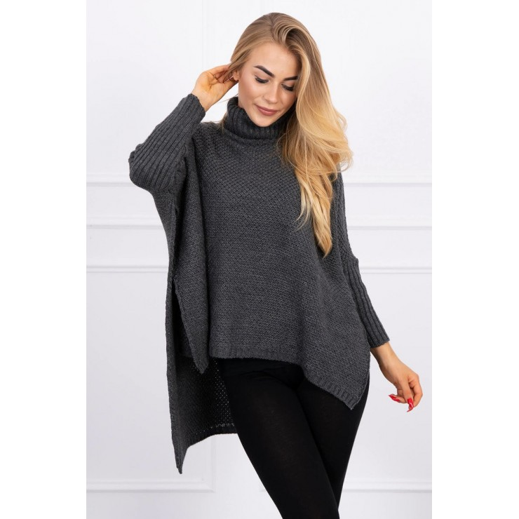 Women's turtleneck 2019-30 graphite