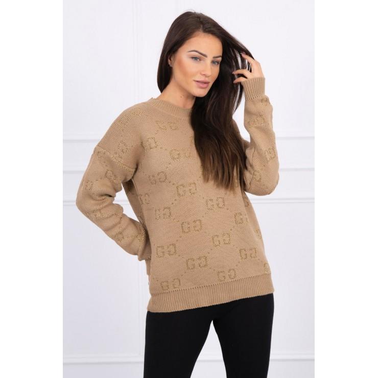 Ladies sweater GG MI2019-29 beige