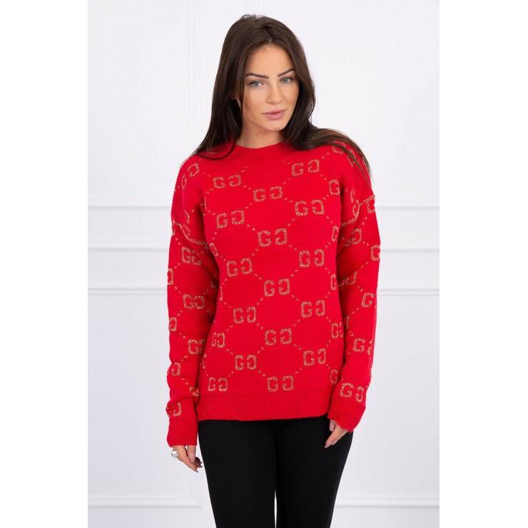 Ladies sweater GG MI2019-29 red