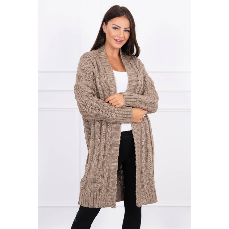 Women's knit sweater MI2019-21 cappuccino
