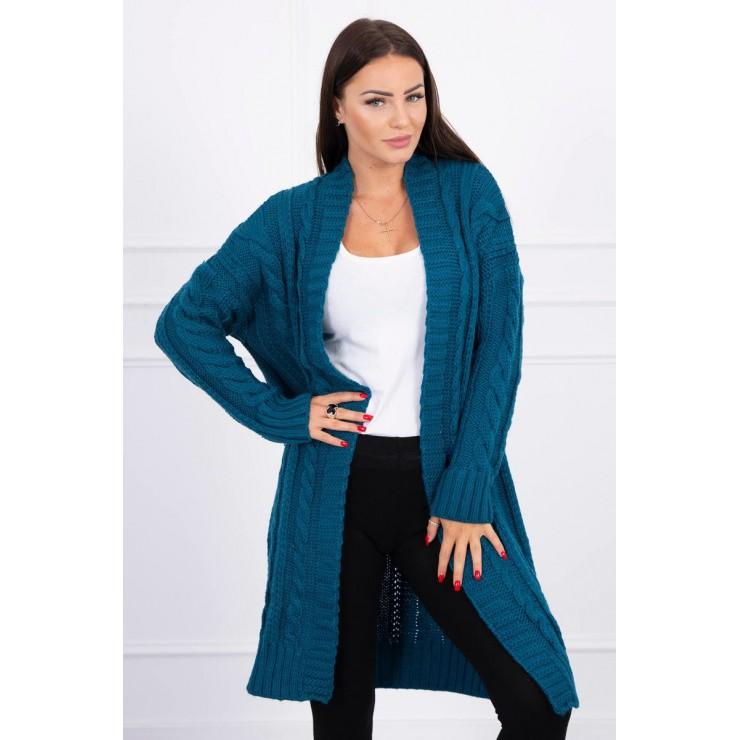 Dámský úpletový svetr MI2019-21 tmavě modrý