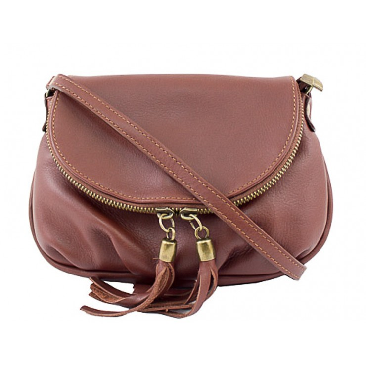Woman Leather Handbag MI13A brown