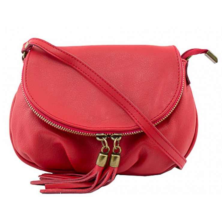 Woman Leather Handbag MI13A red