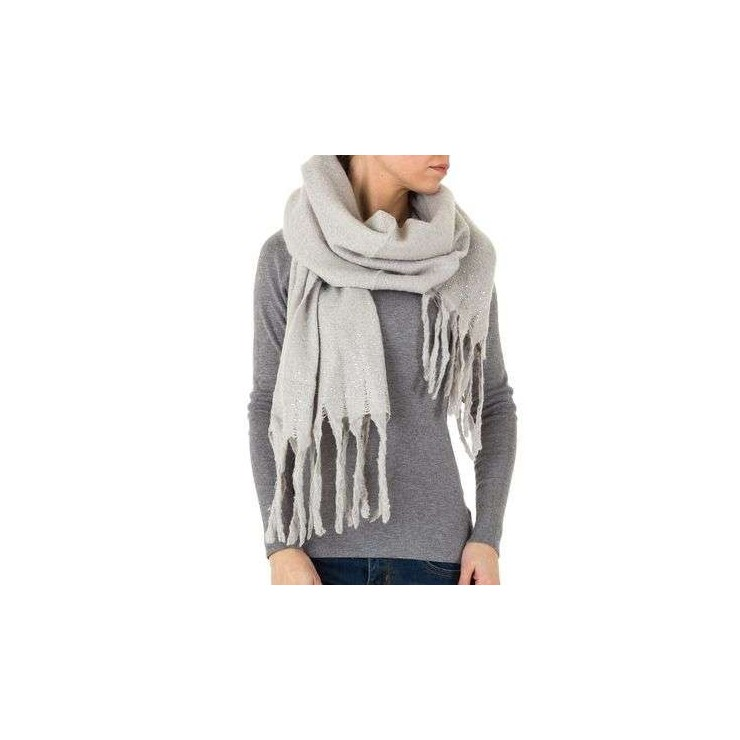 Ladies scarf 1466 gray