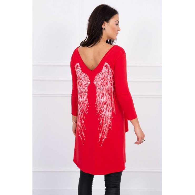 Tunic with wings MI0089 red