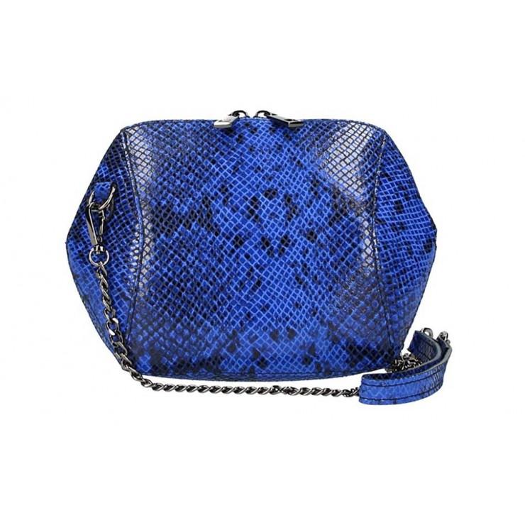 Azurvoě modrá kabelka na rameno 855