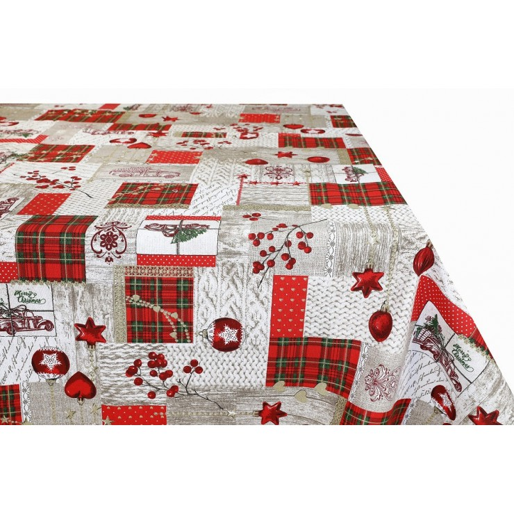 Cotton tablecloth 759K Made in Italy