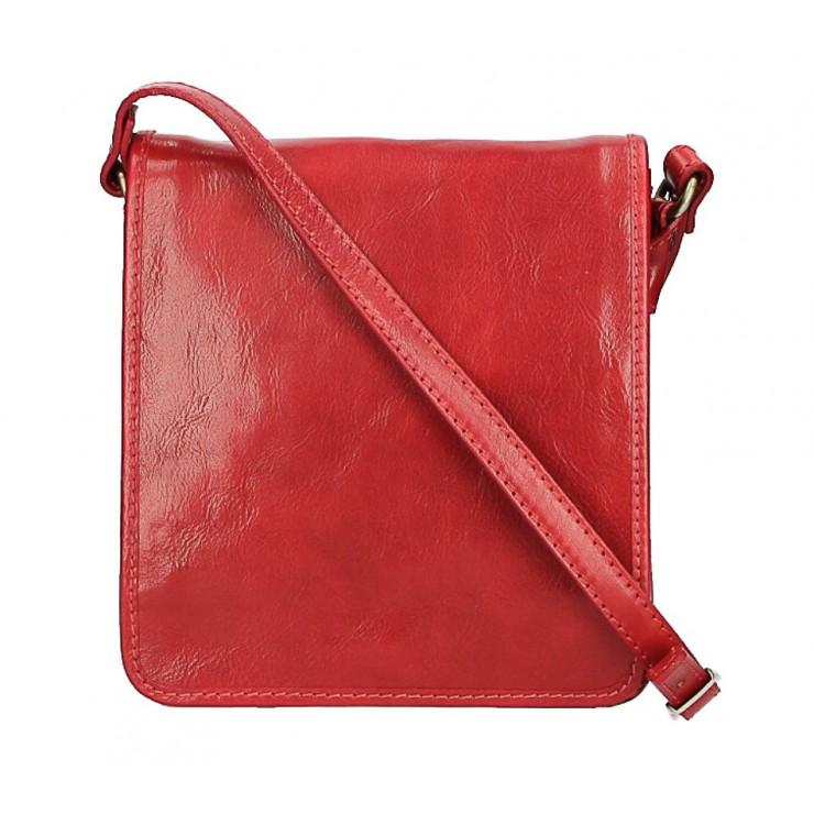 Pánska kožená taška 152 červená