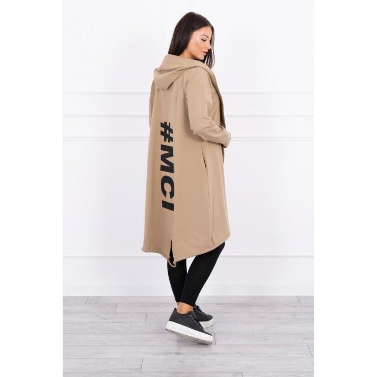 Cardigan da donna MI9005 camel