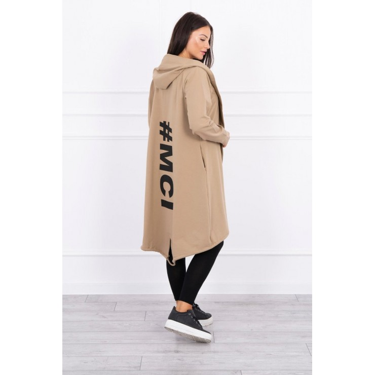 Long cardigan MI9005 camel