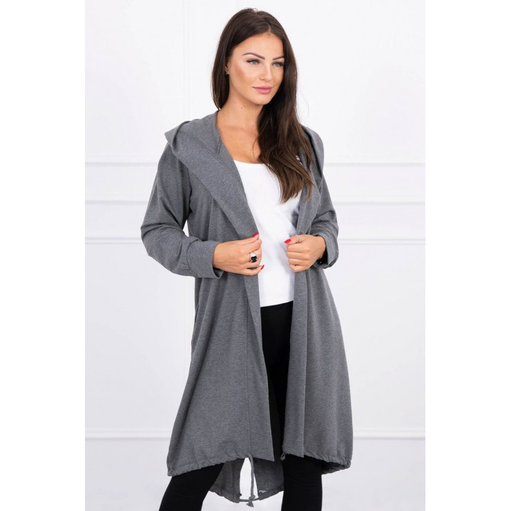 Damen cardigan MI9005 graphit