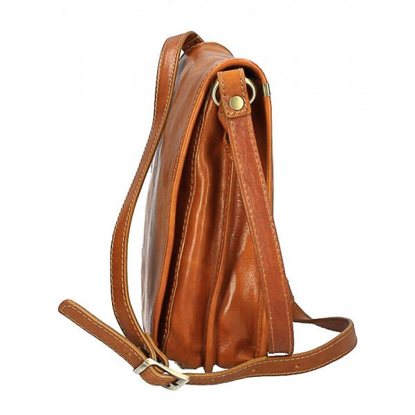 Pánska kožená taška 152 koňaková Koňak
