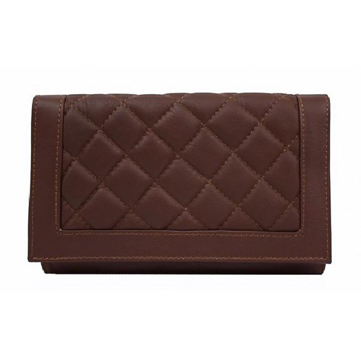 Woman Leather Handbag MI37 Made in italy