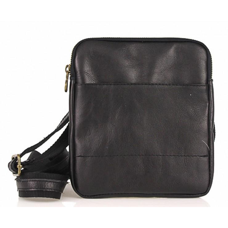 Pánská kožená taška na rameno 383 tmavě hnědá