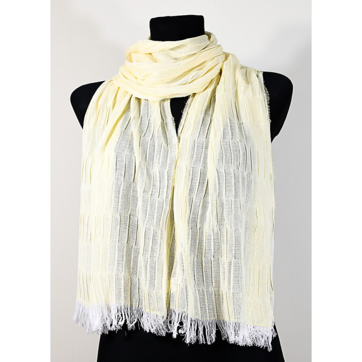 Women's foulard 1015 yellow Made in Italy
