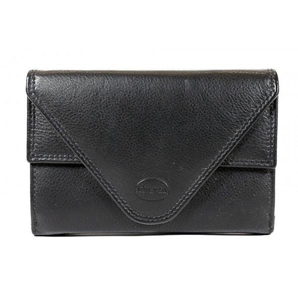 Kožená peňaženka 1124 čierna Calypso Čierna