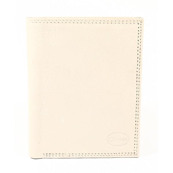 Kožená peňaženka 1128 béžová Calypso Béžová