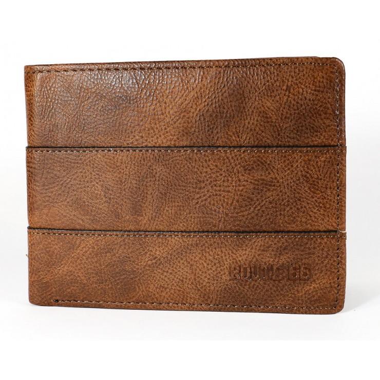 Pánska kožená peňaženka 1034 hnedá Route 66