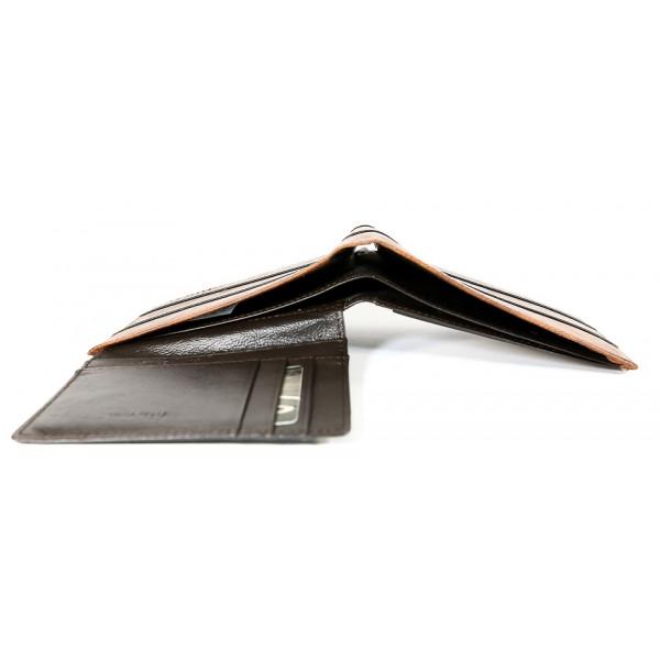 Pánska kožená peňaženka 1034 hnedá Route 66 Hnedá