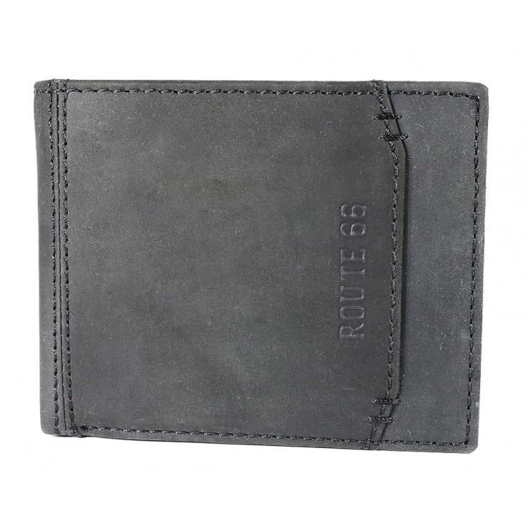 Pánská kožená peněženka 1032 černá Route 66