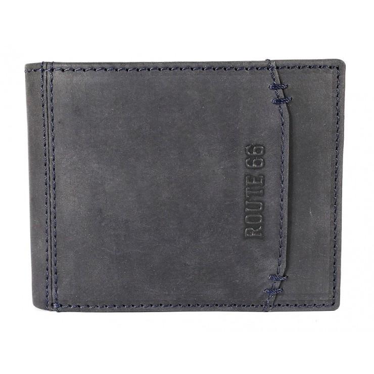 Pánska kožená peňaženka 1032 jeans Route 66