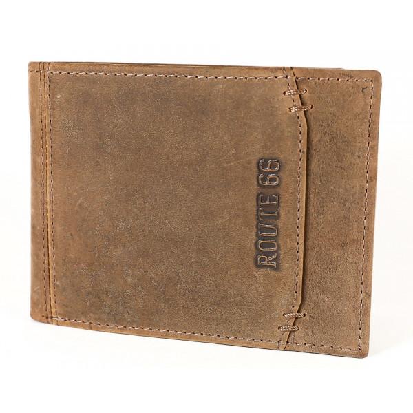 Pánska kožená peňaženka 1032 koňak Route 66 Koňak