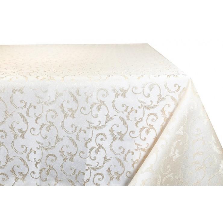 Jacquard table cloth Princess 928 gold