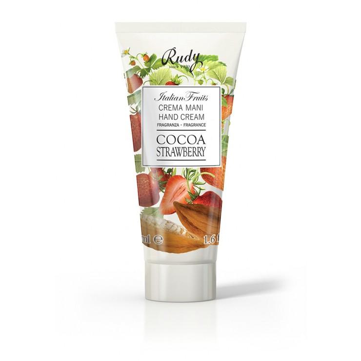 Rudy Profumi Krém na ruky Fruits Kakao a jahody 100 ml