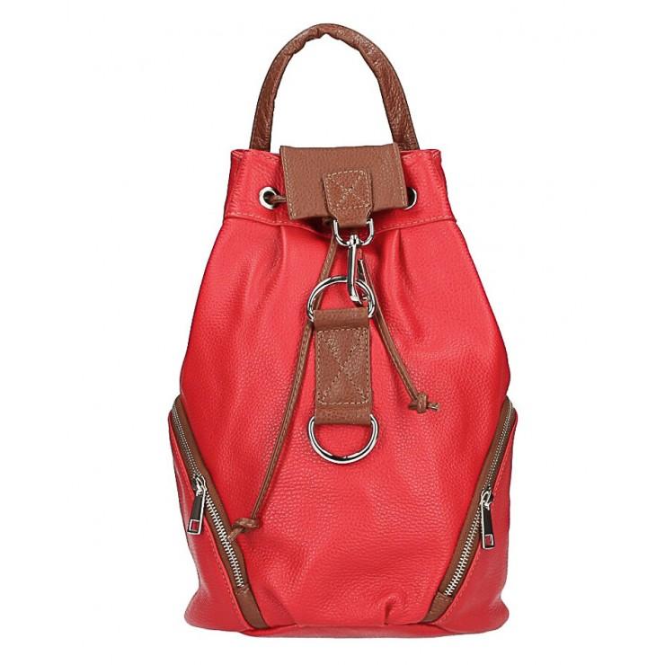 Kožená kabelka do ruky 5307 béžová