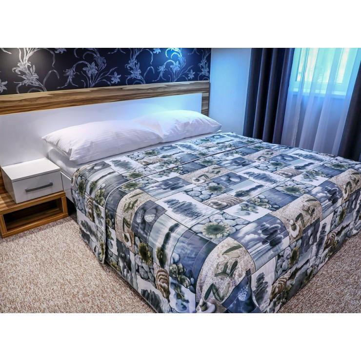 Prehoz na posteľ  701Z ZEN béžový Made in Italy