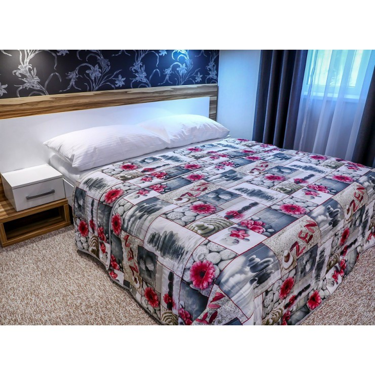 Prehoz na posteľ 701Z ZEN fuchsia Made in Italy